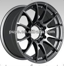 Car auto parts 15 inch chrome spoke wheels for cars