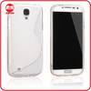 High Quality Ultra Thin Flex TPU Silicone S Line Case for Samsung Galaxy S4