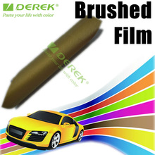 Auto Accessory car parts brushed Film, Brushed Vinyl Film for car painting