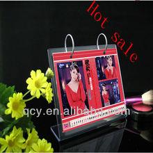 crazy sale!Shenzhen acrylic table top calendar