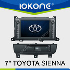 "8"" Touch Screen TOYOTA SIENNA Car DVD Player GPS Navigation"