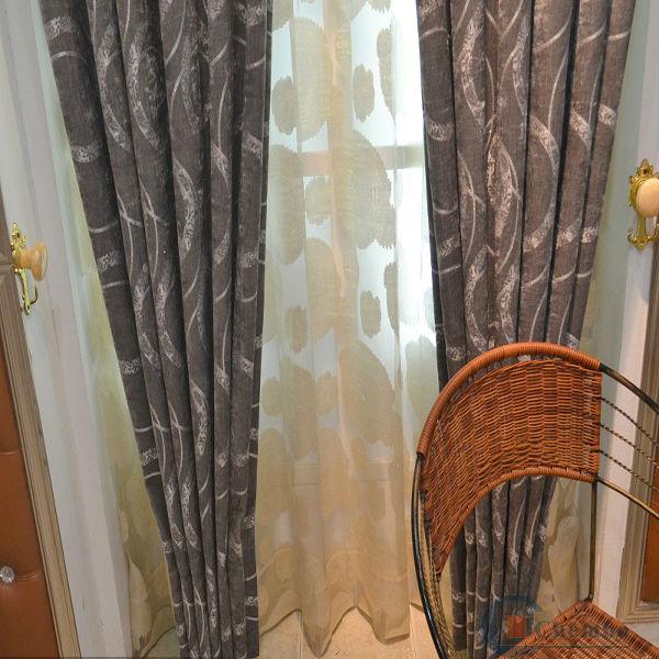 2015 hot sale royal model fancy simple curtain design for Crest home designs curtains