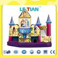 Incrível princesa castelos de salto infláveis para venda LT-2130J