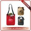 custom imprinted strawberry shopping bag
