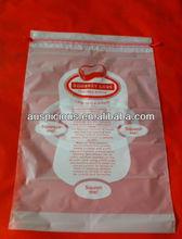 Printed LDPE drawstring bag from China