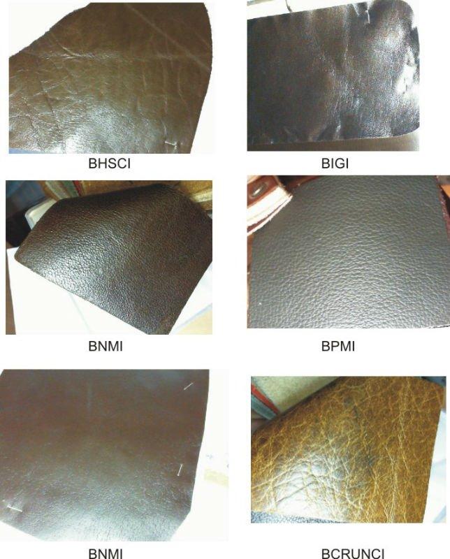Buff leather