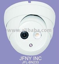"Security Dome Camera / 1/3"" Sony CCD / 480TVL / Model:JFL-BN233"