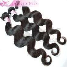 Free shipping 4 Pcs/ lot 100% Virgin Weft Brazilian Body Wave Hair 14 16 18 20 inch