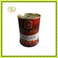 الصين تبيع الساخنة 70g-4500g معجون الطماطم المعلبة، المواد الغذائية في دبي