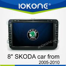 "8"" Double Din Touch Screen Car Radio GPS for SKODA OCTAVIA III"