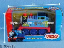 Shantou pull back alloy musical train toy thomas the train toys
