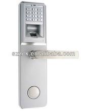 PIN code lock password lock digital door lock password fingerprint lock with mechanical key