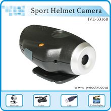 JVE3316B Sport Waterproof Helmet Camera,Sport Video camera Helmet 640*480 2-8GB