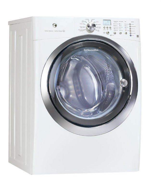 Electrolux EIFLS55IIW 4.7. Ft. Frente de carga vapor lavadora plancha