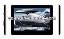 7 inch car car dvd touch screen gps with DVR FM AV-IN bluetooth remote control ISDB-T VCAN0043