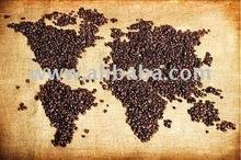 العضوية وروبوستا حبوب البن ارابيكا برنامج التجارة العادلة