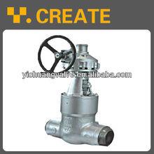 WCB butt weld gate valve