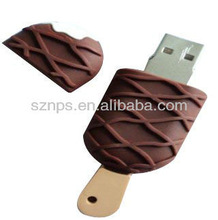 PVC ice cream USB Flash Drive for hot summer