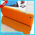 Fashion magnetic smart leather case for ipad 4 3/2 with sleep and wake