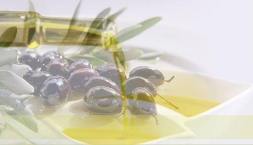 Gold drop of Virgin Olive Oil