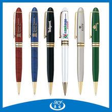 Famous Brand Custom Promotional Twist Metal Ballpoint Pen, Free Ball Pen Sample