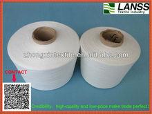 24s 30s 100%polyester spun yarn