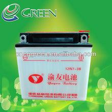 12N7-3B YUYOU High Power Superior Quality Liquid Lead Acid Battery