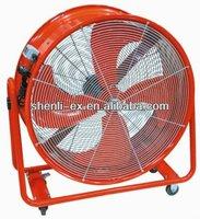 drum exhaust fan