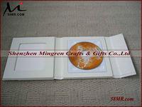 Wedding CD DVD Case Box CD Holder Storage,2Picture 1Disc