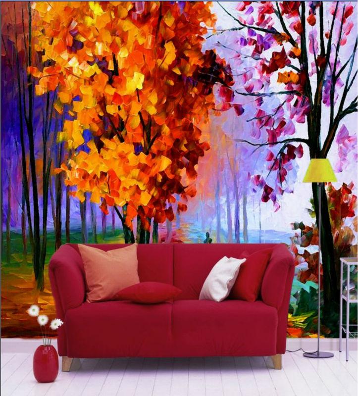 Oil Tree Paintings Oil Painting Trees