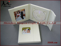 Wedding CD DVD Holder Album Storage Book,2Picture 1Disc