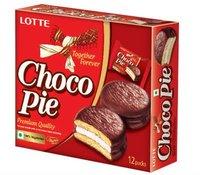 Choco Pie Lotte Chocolate cake