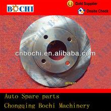 Best saling car parts Semi-metal ceramics customized high carbon go kart disc brake