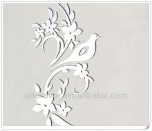 2013 Hot Sticker bird of peace mirror sticker,transparent mirror sticker,mirror home decor