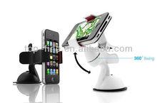 Black Bracket Universal Car Phone Holder for Mobile Phone MP4 MP5 GPS