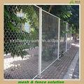 Recubierto de pvc alambre de púas de la cerca/paisajismo( sgs certificado de fábrica)