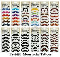 Moustache tattoos