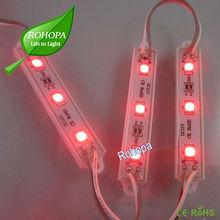 3 leds white module, 5050SMD, high luminance