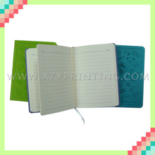 Series printed high quality hard cover lovely mini PU notebook