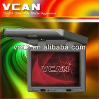 TM-1718C overhead screen car monitor dvd player 17 inch