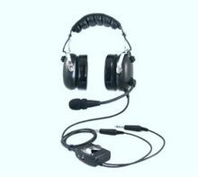 ANR aviation headset active Noise cancelling headset for David clark ANR RAN-1000AC