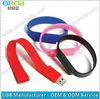 Cheap PVC/Silicone bracelet pen drive usb wristband 1gb 2gb 4gb 8gb