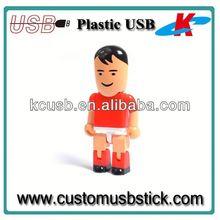 Good design plastic doctor shape usb flash drive peopele shapes4gb 8gb