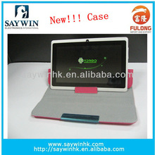 New Premium PU Leather Case Cover with stand for 7'' Tablet PC Black