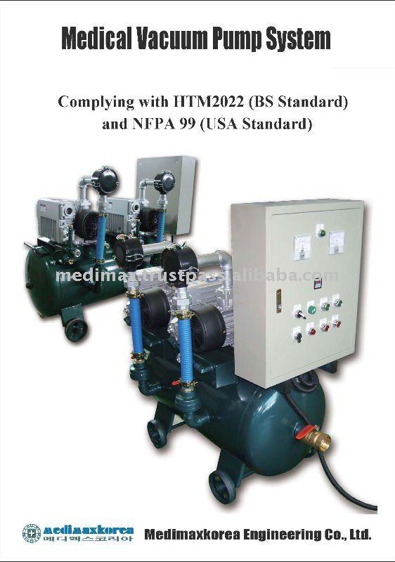 Medical Vacuum Pump System Medical Gas Vacuum Pump System