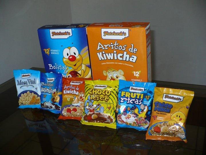 Cereales de desayuno NUTRICROKS