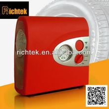 Best selling LED light/flash light DC portable target tire pump/Mini target tire pump/Electric air pump for car(RCP-A3)