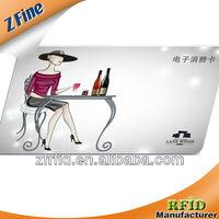 Silver vip membership card/metal business card/gold card