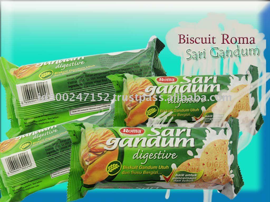 Biscuit Roma Sari Gandum