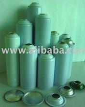 3 Piece Metal Tin Can, Aerosol, Paint
